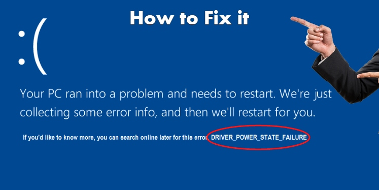 Driver Power State Failure in Windows 10